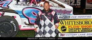 Dunn Makes His Way Back To Victory Lane Friday At Can-Am Speedway