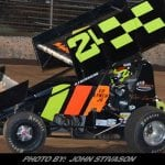 Lynch Collects First Lernerville Victory; King Sr. Edges King Jr. In Modifieds