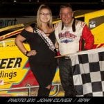 """Billy The Kid"" Nails Down The Win At Bridgeport Speedway"