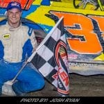 Scarborough, Roberts Winners On Hot Night at Devil's Bowl Speedway