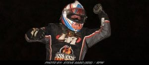 Billy Van Pelt Takes Defends Home Turf In Short Track Super Series 'Hustin' The High Banks 54 At Woodhull