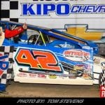 Pete Bicknell Picks Up Ransomville Speedway Checkered Flag Friday