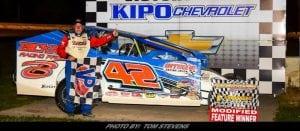 Pete Bicknell Picks Up Ransomville Speedway Checkered Flag Friday