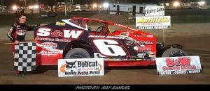 Mat Williamson Wins Another 358-Modified Feature At Merrittville