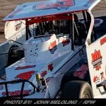 Marc Johnson Collects First Career Utica-Rome Speedway Win Sunday Night
