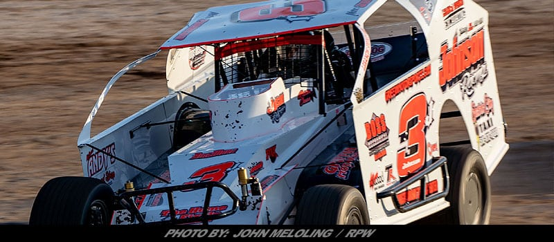 Marc johnson collects first career utica rome speedway win for Victory motors rome ny