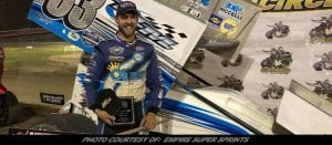 Mike Mahaney Masters Brockville For Second Career Empire Super Sprints Win