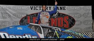 Matt Sheppard Pads Land Of Legends Raceway Points Lead With Victory