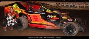 Jason Herrington Gets First Of 2018 At Lebanon Valley Speedway