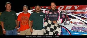 """Billy Gets It """"Dunn"""" Again Friday At Can-Am Speedway"""