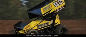 Patriot Sprint Tour A-Main Friday At Outlaw Speedway To Jared Zimbardi