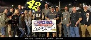 Jesse Pruchnik Powers To First-Career CRSA Sprint Car Series Win