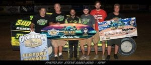 Wild Last Lap Sends Anthony Perrego To Victory Lane In Georgetown's 'Blast At The Beach'