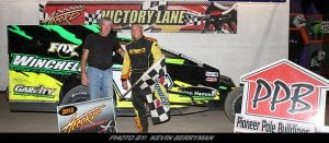 Andy Bachetti Dominates To Capture Accord Speedway Modified Feature