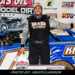 Carrier Cashes In For Lucas Oil Late Model Dirt Series Win At Ponderosa