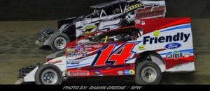 Champs Crowned At Outlaw; Steve Paine Wins Battle While Alan Johnson Wins War