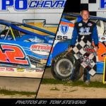 Pete Bicknell Wins Friday At Ransomville; Erick Rudolph Is Your 2018 Modified Track Champion