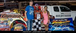 It's A Dream Night For Larry Wight At The Fulton Speedway; Doubles Up & Wins Track Title In Process