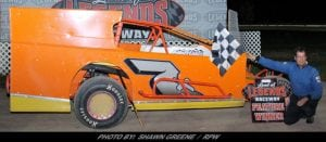 Steve Paine Leads The Way Saturday Night At Land Of Legends Raceway