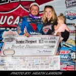 Brandon Sheppard Sails To Lucas Oil Late Model Dirt Series Portsmouth Score