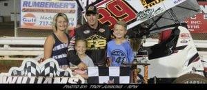 Cory Haas Wins Williams Grove Speedway's Billy Kimmel Memorial Sunday