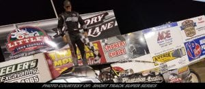 Tom Collins Cruises To Sunday Night Short Track Super Series Sportsman Win At Thunder Mountain
