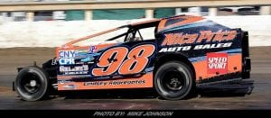 Dan Kapuscinski Heading Back To Dirt; Will Run Outlaw Weekend & Super DIRT Week With Jason Simmons