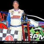 Jimmy Phelps Wins Super DIRTcar Series Race At LeRPM Speedway With Late-Race Pass