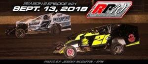 Race Pro Weekly TV: Season 6 Episode #21 – September 13, 2018