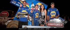Brad Sweet Masters Lapped Traffic EnRoute To 49er Gold Rush WoO Sprint Victory