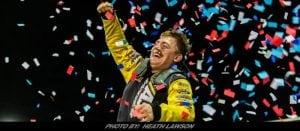 Tyler Erb Triumphs Thursday In Lucas Oil Late Model Dirt Series Event At Knoxville Raceway