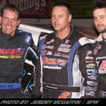 Ronnie Johnson Wins King Of Dirt 358-Modified Series Event At Albany-Saratoga Friday