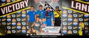 Brandon Sheppard Romps From 19th To Win Lucas Oil Late Model Dirt Series Event At Knoxville