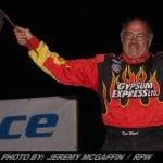 Pat Ward Takes Checkers Saturday Night At The Fonda Speedway