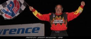 Pat Ward Takes Checkers Saturday Night At The Fonda Speedway