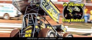 Racing Community Mourns The Passing Of Sprint Car Legend Greg Hodnett