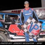 Stewart Friesen Fights Off Competition for DIRTcar 358-Modified Win At Fonda Speedway