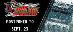 Features From Day One Of Outlaw Speedway's Fall Nationals Pushed To Sunday Due To Weather