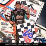 Brent Marks Caps Emotional Evening With Thrilling Eldora World Of Outlaws Sprint Car Triumph