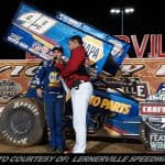 Brad Sweet Tames Lernerville For WoO Sprint Commonwealth Clash Victory