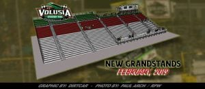 Volusia Speedway Park Begins Construction Of New Main Grandstands