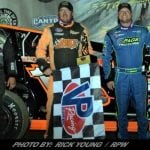 Brad Rouse Finally Get A Win During Fulton Speedway's Outlaw 200 Weekend