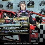 Mat Williamson Takes Care Of Right Rear Tire To Win Northeast Fall Nationals Bullringer 110 At Brockville