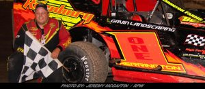 Jason Herrington Rides Title Wave Of Support; Named KOD 358-Mod Most Popular Driver