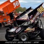 Trenca Hustles To Top 10 In 360-Sprint Car Action At Brockville Ontario Speedway