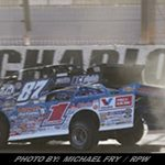 Sheppard Scores in Friday's Feature at Charlotte