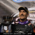 Tim Fuller Stuns 2018 Super DIRTcar Series Champion Matt Sheppard with Late Race Pass for Win
