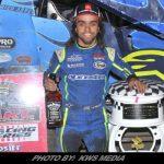 Rico Abreu Ends 2018 Sprint Car Season With Gary Patterson Tribute Win At Stockton