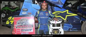 Rico Abreu Ends 2018 Sprint Car Season With Gary Patterson Tribute Win At Stockton