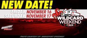 Weekend Forecast Postpones Wildcard Weekend At Bridgeport To November 16th & 17th